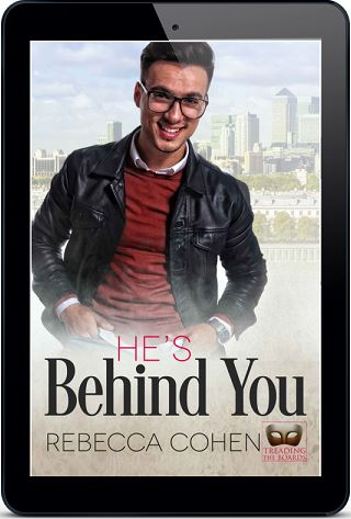 Rebecca Cohen - He's Behind You 3d Cover urnf7n
