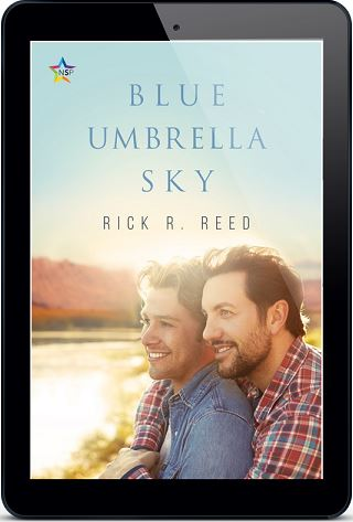 Rick R. Reed - Blue Umbrella Sky 3d Cover 73jdus