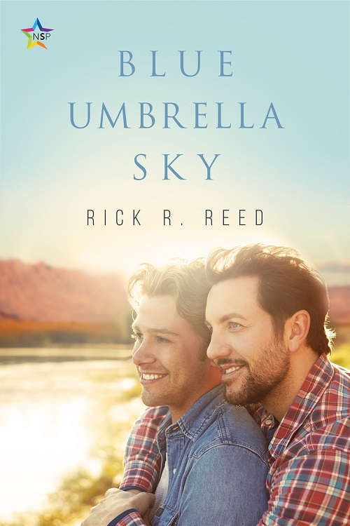 Rick R. Reed - Blue Umbrella Sky Cover 73jdus