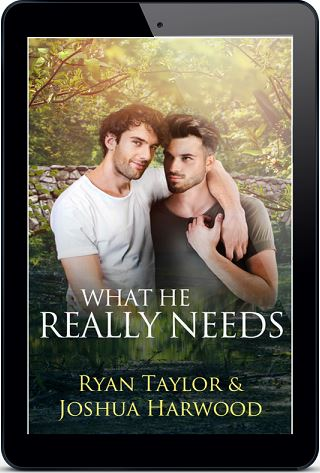 What He Really Needs by Ryan Taylor & Joshua Harwood Blog Tour, Interview, Excerpt & Giveaway!