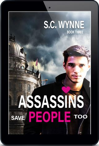 S.C. Wynne - Assassins Save People Too 3d Cover 48rmfk