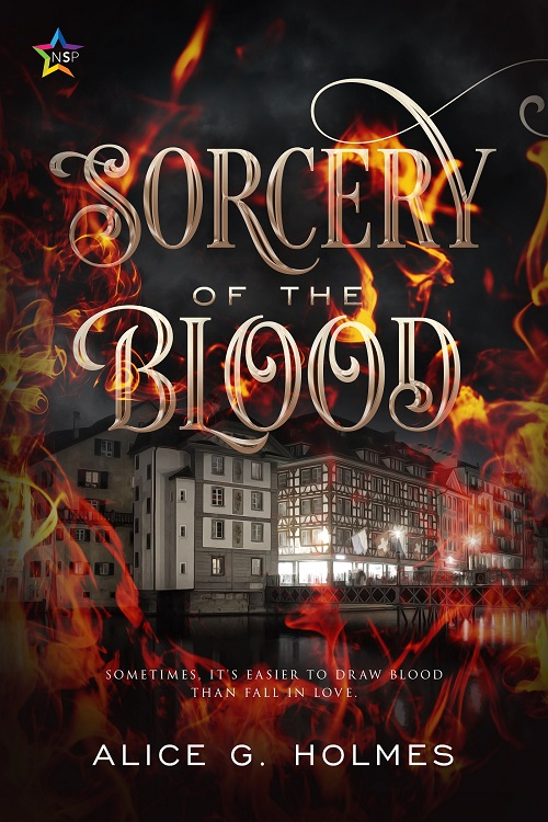 Alice G. Holmes - Sorcery of the Blood Cover 234738yrh