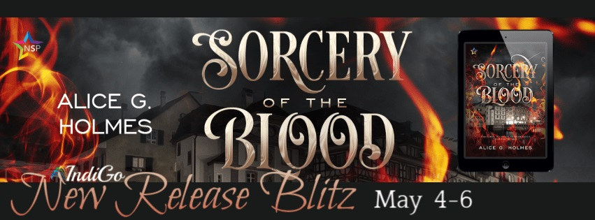 Alice G. Holmes - Sorcery of the Blood RB Banner