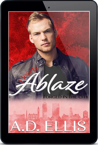 Hearts Ablaze by A.D. Ellis Blog Tour, Interview, Excerpt & Giveaway!