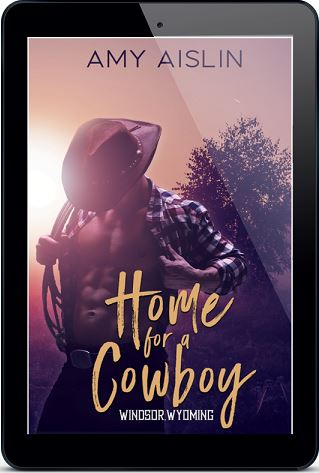 Home For A Cowboy by Amy Aislin Release Blast, Excerpt & Giveaway!
