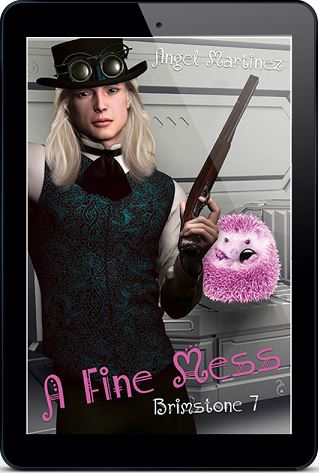 A Fine Mess by Angel Martinez Blog Tour, Shax Interview, Excerpt, Review & Giveaway!
