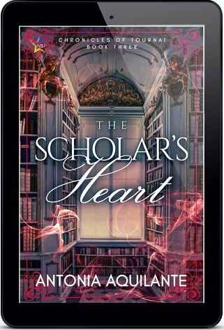 Antonia Aquilante - The Scholar's Heart 3d Cover tyg7jmk