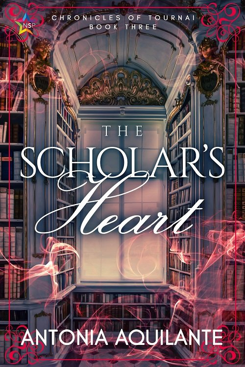 Antonia Aquilante - The Scholar's Heart Cover tyg7jmk