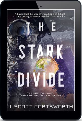 The Stark Divide by J. Scott Coatsworth Blog Tour, Unique Excerpt, Review & Giveaway!