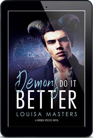 Demons Do It Better by Louisa Masters Cover Reveal with Giveaway!