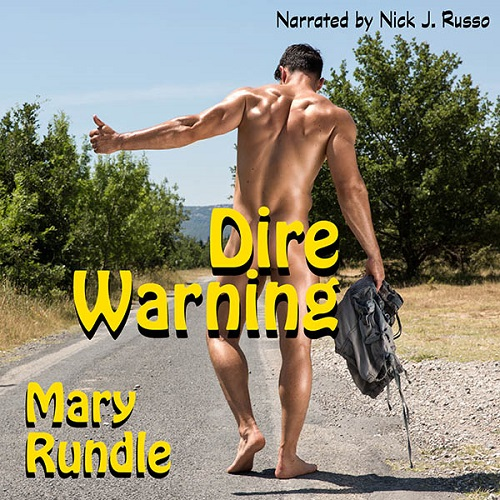 Mary Rundle - Dire Warning Audio Cover 73wue4jr