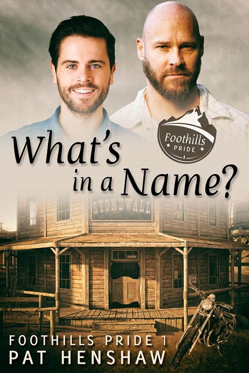 Pat Henshaw - What's in a Name Cover 745rj