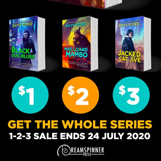 Rhys Ford - Kai Gracen series sale Promo