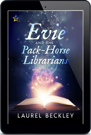 Laurel Backley - Evie and the Pack-Horse Librarians 3d Cover 3487jhfr