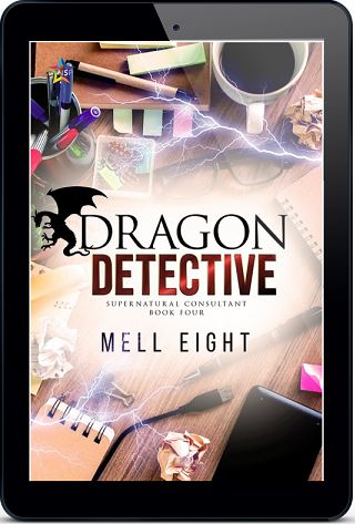 Dragon Detective by Mell Eight Release Blast, Excerpt & Giveaway!