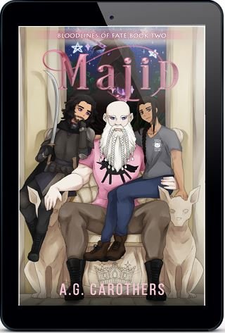 Majid by A.G. Carothers Cover Reveal!