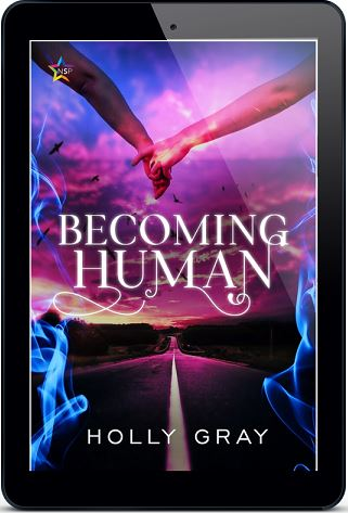 Becoming Human by Holly Gray Release Blast, Excerpt & Giveaway!