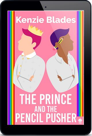 The Prince and the Pencil Pusher by Kenzie Blades  Blog Tour, Interview, Excerpt & Giveaway!