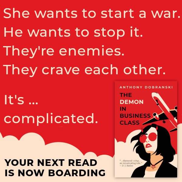 Anthony Dobranski - The Demon In Business Class Promo 2