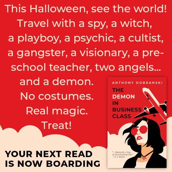 Anthony Dobranski - The Demon In Business Class Promo 4
