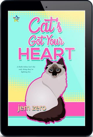 Cat's Got Your Heart by Jem Zero Release Blast, Excerpt & Giveaway!