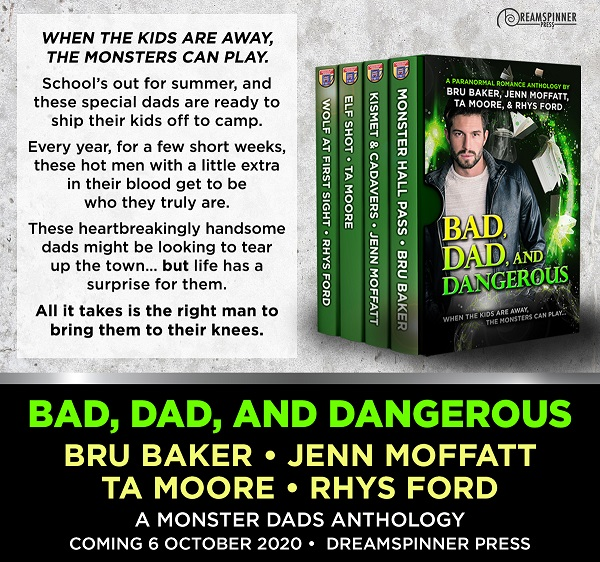 T.A. Moore & Rhys Ford - Bad, Dad, and Dangerous Promo