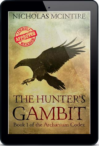 The Hunter's Gambit by Nicholas McIntire Blog Tour, Excerpt, Review & Giveaway!