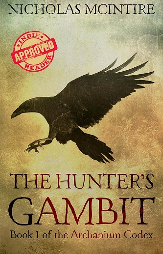 Nicholas McIntire - The Hunter's Gambit Cover w9eudn s