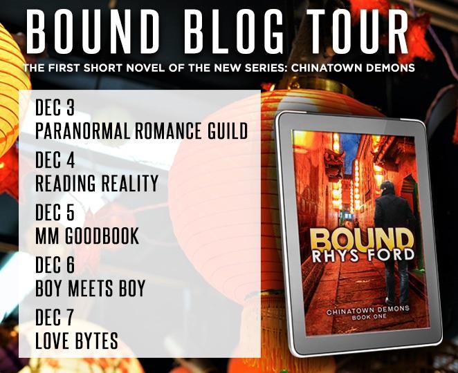 Rhys Ford - Bound Tour_List