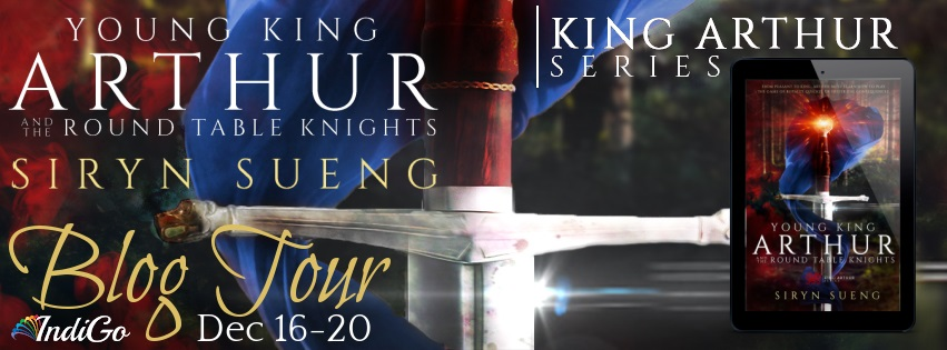Siryn Sueng - Young King Arthur and the Round Table Knights Banner