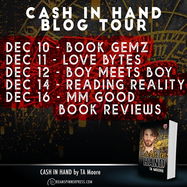 T.A. Moore - Cash In Hand Blog Tour
