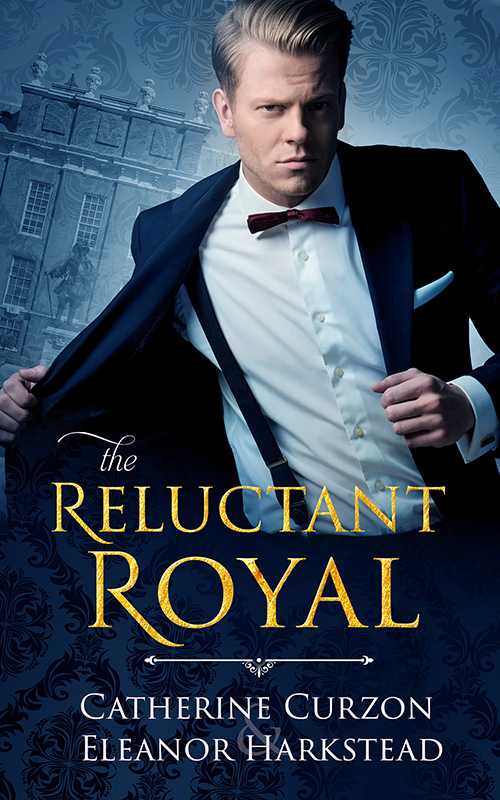 Catherine Curzon & Eleanor Harkstead - The Reluctant Royal Cover fv7fjf