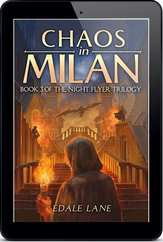 Chaos in Milan by Edale Lane Blog Tour, Guest Post, Excerpt & Giveaway!