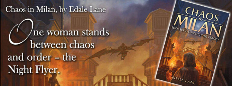 Edale Lane - Chaos in Milan Banner 1